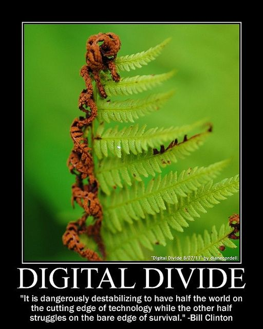 빌 클린턴은 인류의 절반이 최첨단 기술을 향유하는데, 나머지 절반은 생존을 위해 몸부림 치는 매우 불안정한 상황이라고 말한바 있다... - diane cordell(F) 제공