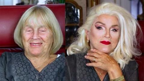 """""""할머니도 화장하면 예뻐요"""""""