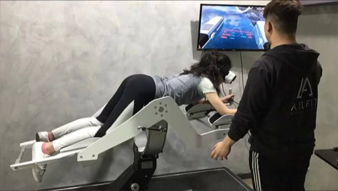 기자가 직접 가상현실(VR) 운동기기인