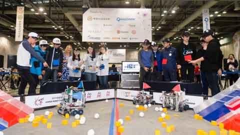 청소년을 위한 로봇 축제 KRC 21일 개막!