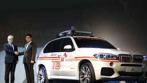 '판매 경쟁' 벤츠·BMW, 커넥티드 카 경쟁도 점입가경