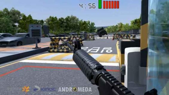 고리원전 앞 테러 상황? VR로 방호 훈련한다
