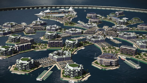 세계 최초의 해상 도시 프로젝트