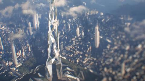 [디자인] 5천 미터 높이, 2026년 미래의 빌딩