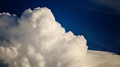 얼음 구름 탄생하는 순간을 사진으로 찍었다!