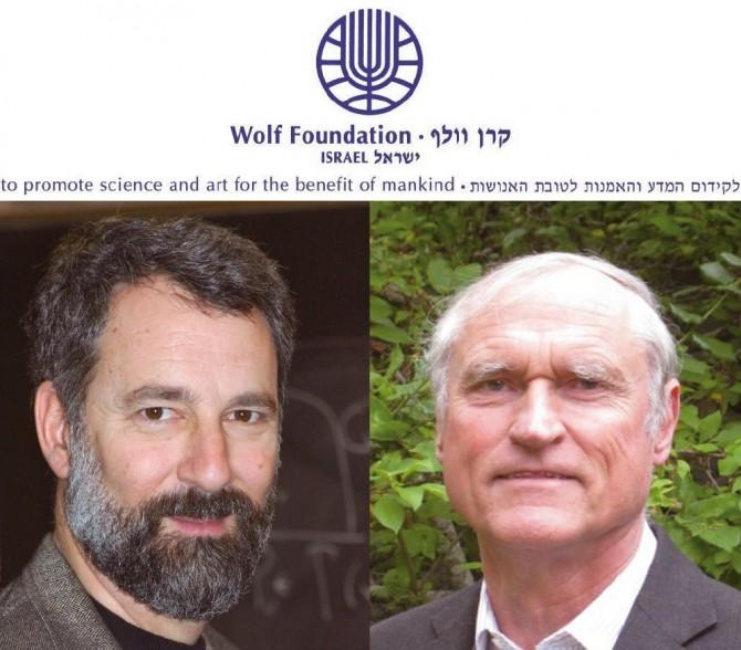 2017 수학 분야 울프상 수상자로 선정된 찰스 페퍼먼 교수(왼쪽)와 리처드 쉔 교수(오른쪽). - ⓒ프린스턴대, ⓒInstitute for Advanced Study 제공