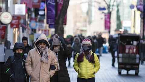 [25일 날씨] 전국 '꽁꽁' 강추위 계속…서울 아침 최저 '-9도'