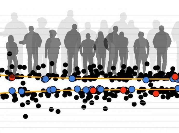 연구진은 70만 명 대상의 대규모 유전자 분석 연구를 통해 성장에 영향을 미치는 유전자 83개를 규명했다. - 네이처 제공