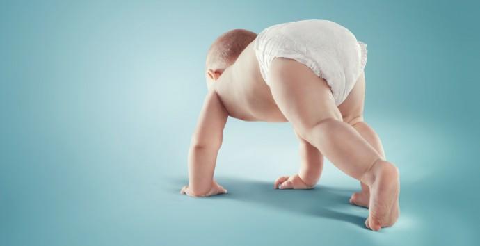 특히 기저귀는 아이의 민감한 피부인 엉덩이와 거의 24시간 내내 밀착돼 있다. - GIB 제공