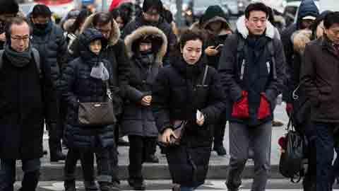 [9일 날씨] 돌아온 강추위…옅은 황사로 미세먼지 '주의'