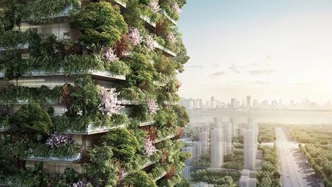 [환경] 아시아 최초의 나무숲 빌딩