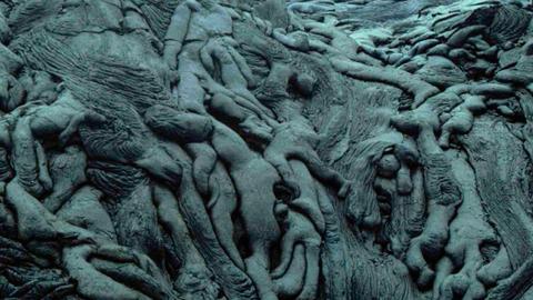 지옥을 연상시키는 용암 지대