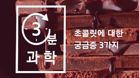 [카드뉴스] 초콜릿에 대한 궁금증 3가지