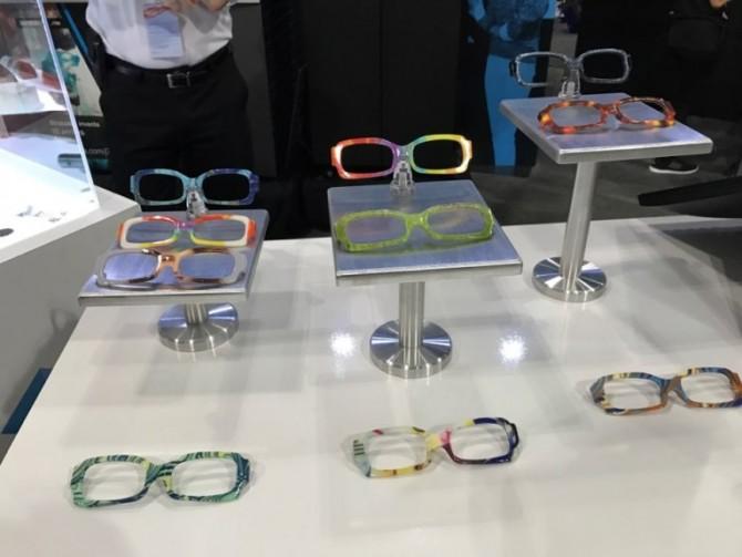 3D 프린터로 만든 안경테