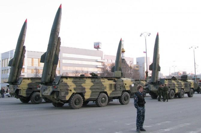 KN-02의 원형으로 알려진 구소련의 SS-21 미사일의 모습 - 위키미디어 제공