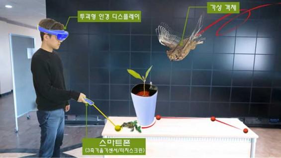 스마트폰=마우스! 증강현실(VR) 속 캐릭터 내맘대로 움직인다