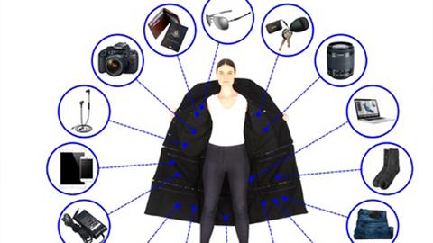 [아이디어] 항공기 이용료를 줄여주는 재킷 '화제'