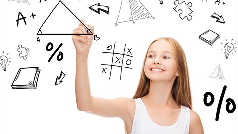몸으로 배우는 수학, 성적이 쑥쑥!