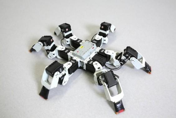 곤충보다 더 빠른 곤충 모방 6발 로봇