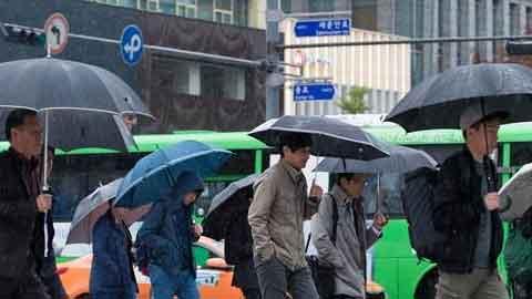 [20일 날씨] 전국 흐리고 비…체감온도 떨어져 '건강 유의'