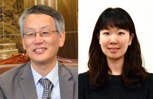 김인산 책임연구원(왼쪽)과 양유수 선임연구원 - KIST 제공