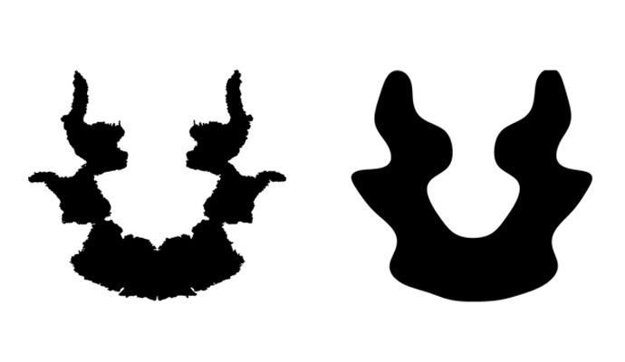 그림 가장자리에 프랙탈 구조가 살아있는 왼쪽 그림과, 가장자리의 프랙탈 구조를 지운 오른쪽 그림. 차이가 느껴지는지? - Courtesy of Richard Taylor 제공