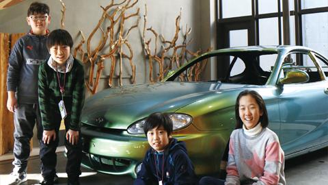 자연에서 답을 찾다! FOMA 자동차 디자인 미술관