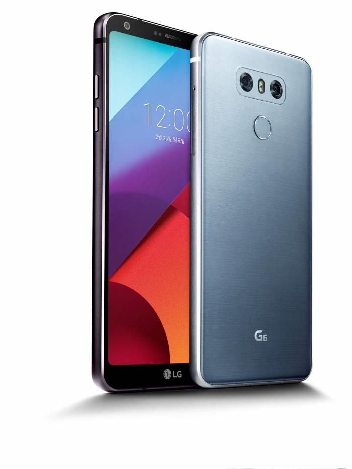 LG전자 G6의 앞면과 뒷면 모습 - LG전자 제공