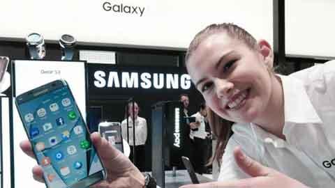 삼성전자 갤럭시 S7 엣지, MWC 2017 '최고' 스마트폰