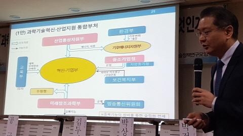 """""""미래부-산업부-교육부-중기청 융합해 '혁신기업부' 만들자"""""""