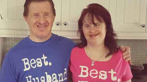 22년 행복한 결혼 생활한 다운증후군 부부
