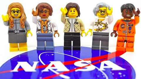 'NASA 여성 우주 개척자들' 레고 인형 만든다