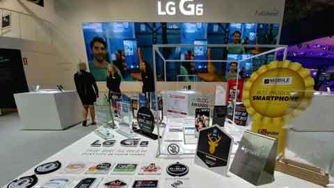 LG전자 G6, MWC에서 업계 최다 31개 어워드 수상