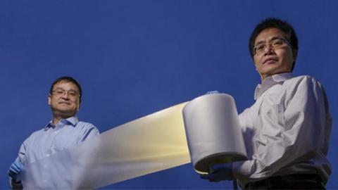 에너지 없이 지붕 식히는 필름?
