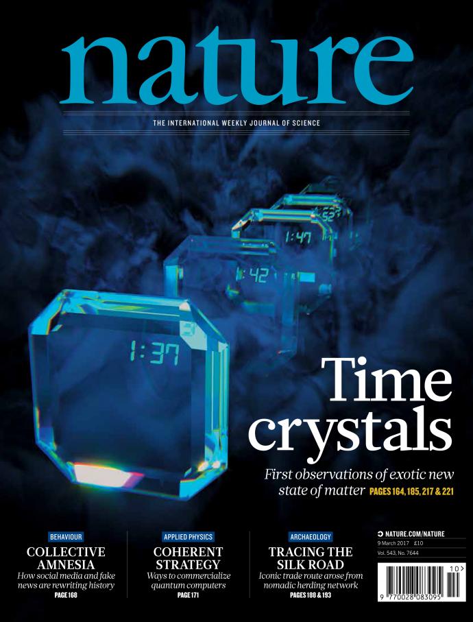 이 세상에 없는 새로운 물질 형태를 찾아내다 - Nature(Peter Crowther) 제공