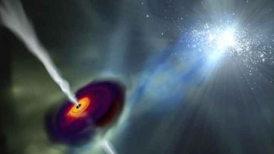 거대질량블랙홀의 탄생 비밀...주변 은하 덕분에 덩치 키웠다