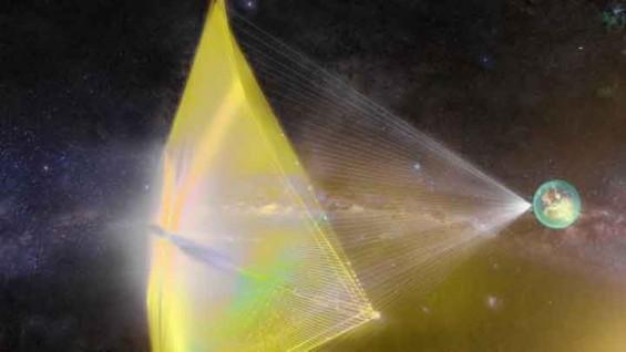 광속 20% 초고속 우주선, 작은 먼지 입자에도 파괴 위험