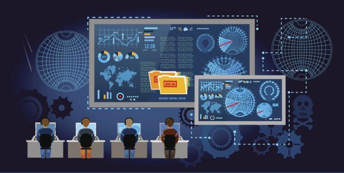 우리는 알게 모르게 다양한 통신망 속에서 각 개인의 정보를 노출하며 살고 있다.  - GIB 제공