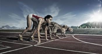 인간의 달리기 속도는 생각보다 빠르다. 육상동물 중 최고 러너인 치타에 비해서는 느리지만 적어도 말, 캥거루보다는 빨리 달릴 수 있는 수준이다. - Flickr 제공