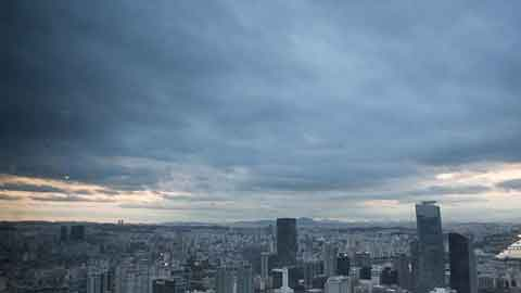 [25일 날씨] 전국 대체로 흐림…밤까지 전국 곳곳 비
