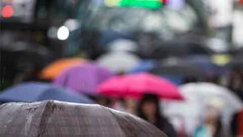 [27일 날씨] 전국 대부분 비…일부지역 천둥·번개·우박도