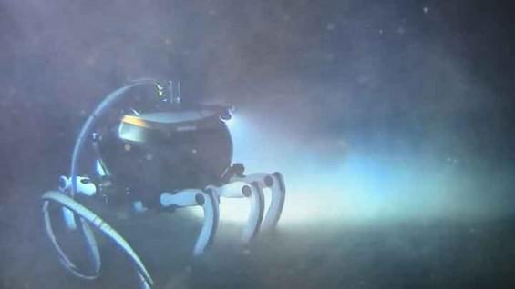 한국형 심해로봇, 해저 4700m 바닷속 걸었다
