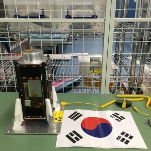 개발을 마친 큐브위성 링크. - KAIST 항공우주시스템 및 제어 연구실 제공
