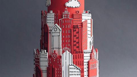 미술 작품을 능가하는 아트 케이크