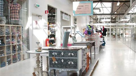 스웨덴, 세계 최초의 재활용 쇼핑몰