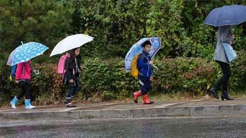 [15일 날씨] 주말 곳곳 '비소식'…낮에 대부분 그쳐