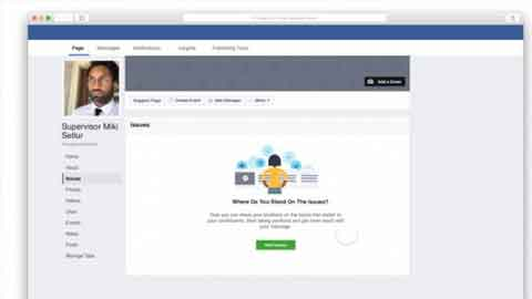 페이스북, 대선 공약을 한 눈에 확인할 수 있는 '이슈 탭' 기능 공개