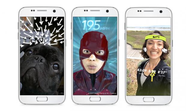 페이스북이 F8 행사에서 제시한 AR 기능 적용 사례 - 페이스북 제공