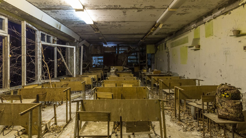 체르노빌 원전 마을, 31년 만에 불 밝혀