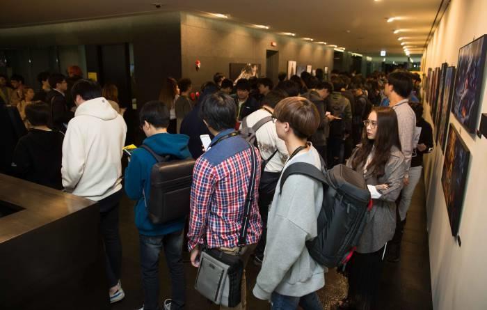2017 NDC 아트북 무료나눔 행사 전경 - 넥슨 제공